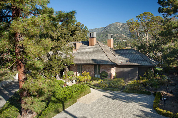 2000 Sandy Place exterior, a home in Montecito Birnam Wood